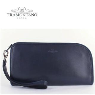 ビームス(BEAMS)のTRAMONTANO トラモンターノ クラッチバッグ ネイビー(セカンドバッグ/クラッチバッグ)