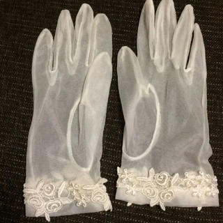【きのこ様専用】ウェディンググローブ ショート(手袋)