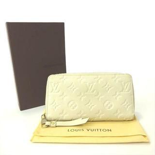 ルイヴィトン(LOUIS VUITTON)のルイヴィトン ヴィトン 長財布 財布 モノグラム アンプラント ネージュ(財布)