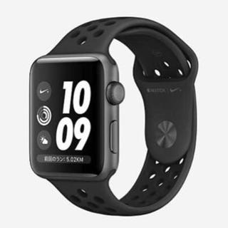 ナイキ(NIKE)の【新品】Apple Watch アップルウォッチ ナイキ+シリーズ3(腕時計(デジタル))