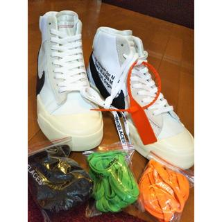 NIKE - 【未使用】NIKE + OFF-WHITE THE BLAZER  27cm
