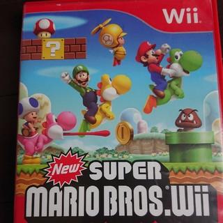 ウィー(Wii)のWii スーパーマリオブラザーズ(家庭用ゲームソフト)