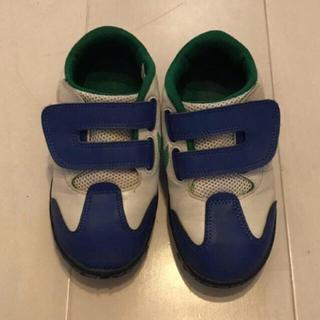 NIKE - ナイキ 15センチ 男の子 青×緑