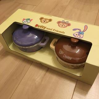 ディズニー(Disney)の新品未使用 香港ディズニー ダッフィーキャセロールセット 食器 カップ(キャラクターグッズ)