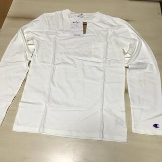 チャンピオン(Champion)の新品未使用 チャンピオン 長袖Tシャツ 160cm 男女兼用 cs3691(Tシャツ/カットソー)