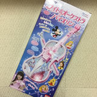 ディズニー(Disney)の新品 ディズニー ライト&オーケストラバイオリン ピンク(キャラクターグッズ)