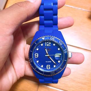 アディダス(adidas)のアディダス 腕時計 青 土日セール中(腕時計(アナログ))