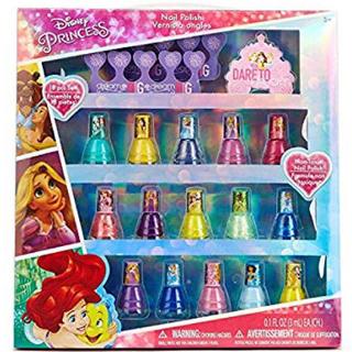 ディズニー(Disney)の新品 箱入り ディズニープリンセス ネイル マニキュア15本+爪みがき 正規品(マニキュア)