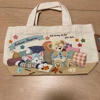 ディズニー(Disney)のバッグのみ ディズニー ダッフィー  オータム バッグ(キャラクターグッズ)