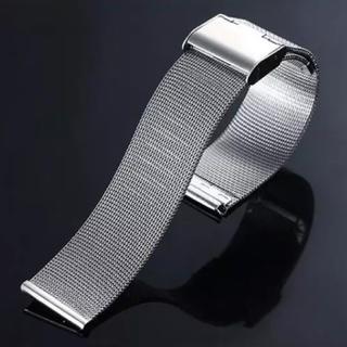 ダニエルウェリントン(Daniel Wellington)のダニエルウェリントン シルバーベルト 幅18mm(金属ベルト)