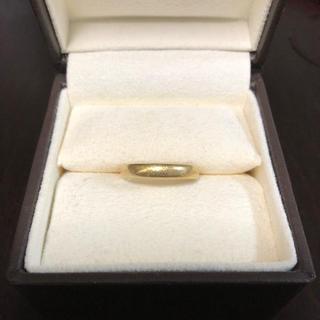 ワンワンわんこ様専用‼️リング 指輪 K18 イエローゴールド (リング(指輪))