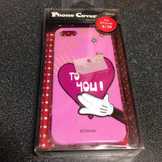 ディズニー(Disney)のiphone5 5s  カバー ハードケース ミッキー ディズニー(iPhoneケース)