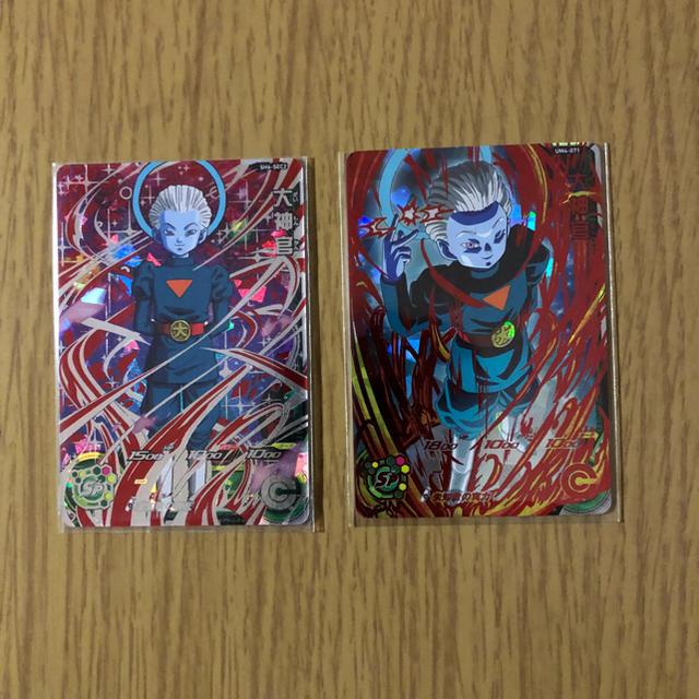 ドラゴンボール(ドラゴンボール)の‼️大神官2枚セット‼️ エンタメ/ホビーのトレーディングカード(シングルカード)の商品写真