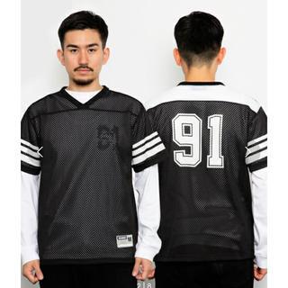 エックスガール(X-girl)のX-LARGE フットボールTシャツ(Tシャツ(半袖/袖なし))