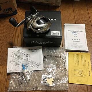 シマノ(SHIMANO)のシマノ メタニウムmgl  XG 右巻き クーポンで17800円!送料無料!(リール)