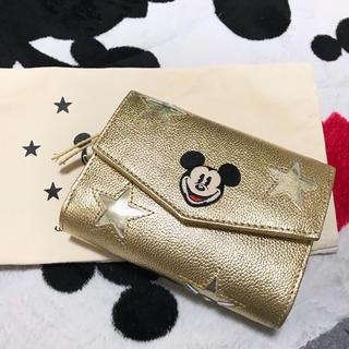 ディズニー(Disney)の美品☆ACCOMMODE ミッキー財布(財布)