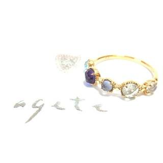 アガット(agete)のアガット K10リング 11号(リング(指輪))