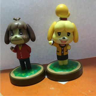 Wii U - フィギュア アミーボ  どうぶつの森 wii U