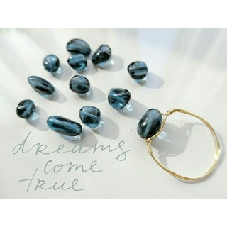 アガット(agete)の【オーダーページ】宝石質ロンドンブルートパーズring♡(リング(指輪))