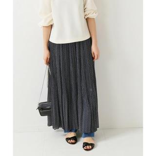 イエナ(IENA)のIENA イエナ 楊柳シフォンプリーツスカート サイズ36(ロングスカート)