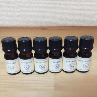 エッシェンシャルアロマオイル6本(エッセンシャルオイル(精油))