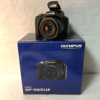 オリンパス(OLYMPUS)の【付属品完備】オリンパス  デジタルカメラ CAMEDIA SP-565UZ(コンパクトデジタルカメラ)