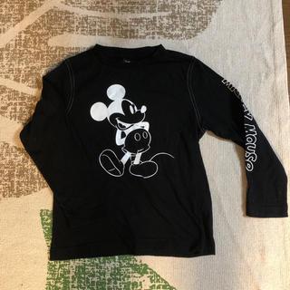 ジーユー(GU)の美品  ミッキー  ロンT  GU (Tシャツ/カットソー)
