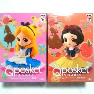 Disney - 最新作🍮Qposket🍮アリス&白雪姫ノーマルset