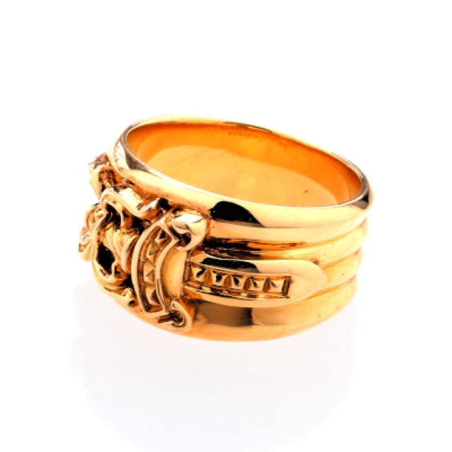 Chrome Hearts ゴールド リング メンズのアクセサリー(リング(指輪))の商品写真