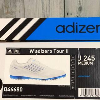 アディダス(adidas)のアディダス★ゴルフシューズ24.5★レディースキャロウェイNIKE(シューズ)
