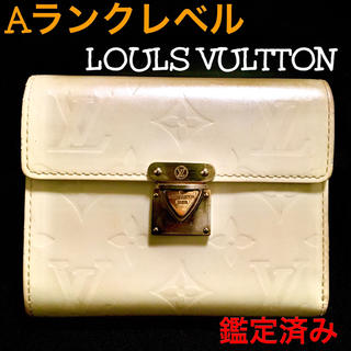 ルイヴィトン(LOUIS VUITTON)のAランクレベル、LOULS VULTTON、ヴェルニ サラ、2つ折り財布、廃番品(財布)