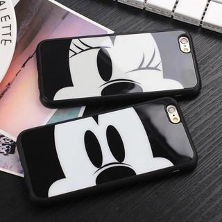 ディズニー(Disney)のセット!ディズニー 普通ミッキーSEミラーミッキー 7(iPhoneケース)