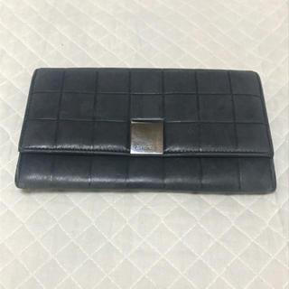 CHANEL - CHANEL マトラッセチョコバー 長財布