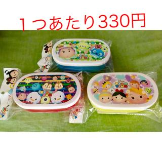 ディズニー(Disney)のツムツム お弁当箱 3つセット! 新品未使用です!(弁当用品)