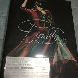 安室奈美恵 Finally 初回限定版 DVD 名古屋公演 未開封新品(ミュージック)