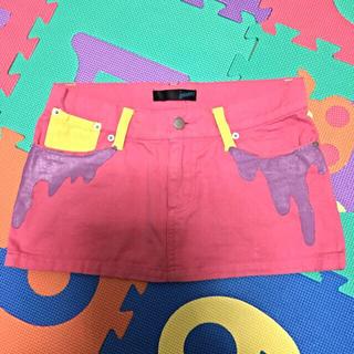 ギャラクシー(galaxxxy)のGalaxxxy スライムミニスカート(ミニスカート)
