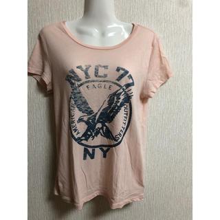 アメリカンイーグル(American Eagle)のアメリカンイーグル 半袖 ピンク(Tシャツ(半袖/袖なし))