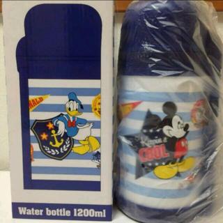 ディズニー(Disney)の送料込 ミッキー&ドナルド ステンレスボトル 新品(水筒)