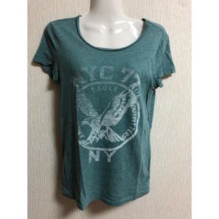 アメリカンイーグル(American Eagle)のアメリカンイーグル グリーン 半袖(Tシャツ(半袖/袖なし))