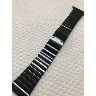 アップルウォッチ(Apple Watch)の純正 Apple watch リンクブレスレット 42mm スペース ブラック (金属ベルト)