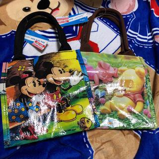 ディズニー(Disney)のDisney ビニールトート小(キャラクターグッズ)