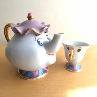 ディズニー(Disney)の美女と野獣 ポット夫人 チップ(食器)