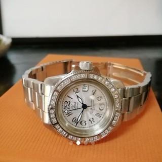 イエナ(IENA)の未使用近い美品。IENA イエナ ストーンベゼル 腕時計(腕時計)