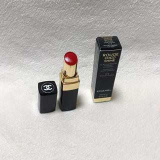 シャネル(CHANEL)のCHANEL rouge coco shine 限定色 124(口紅)