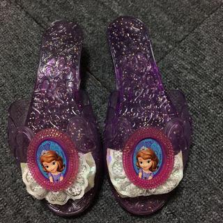 ディズニー(Disney)のソフィア  サンダル  18㎝(サンダル)