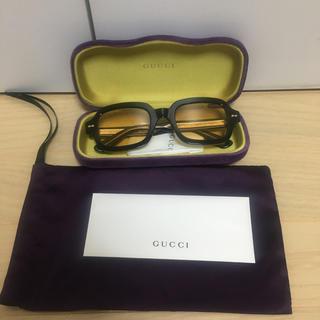 グッチ(Gucci)のGUCCI スクエアフレーム アセテート サングラス(サングラス/メガネ)