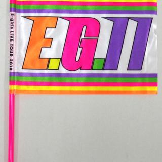 イーガールズ(E-girls)のEG11 フラッグ(ミュージシャン)