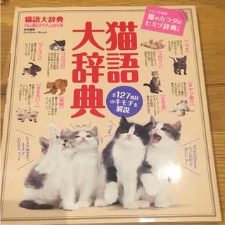 猫語大辞典 猫雑誌 ペット ねこ 愛猫家向け(住まい/暮らし/子育て)