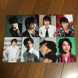 アラシ(嵐)の櫻井翔 公式写真 8枚セット(アイドルグッズ)