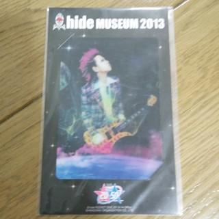 hide museum 2013 カード(ミュージシャン)